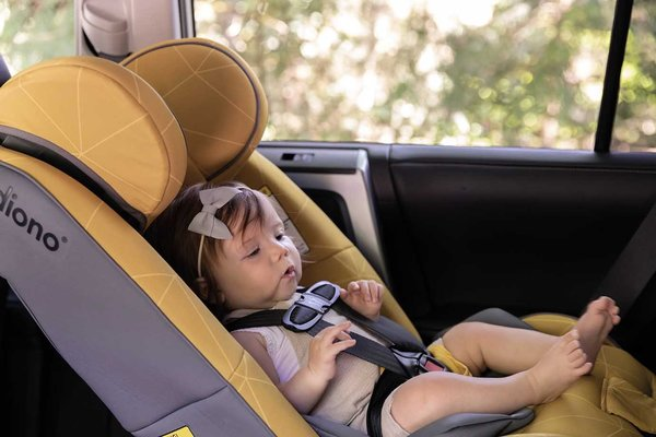 View larger image of Diono Radian 3 RXT Convertible Car Seat - Yellow Sulphur