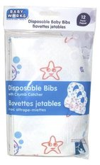 Disposable Bibs 10pk