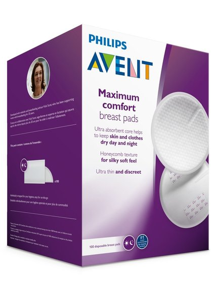 View larger image of Maximum Comfort Disposable Breast Pads - 60 Count