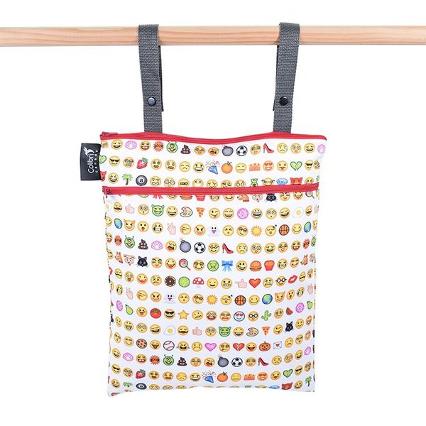 View larger image of Double Duty Wet Bag-Emoji