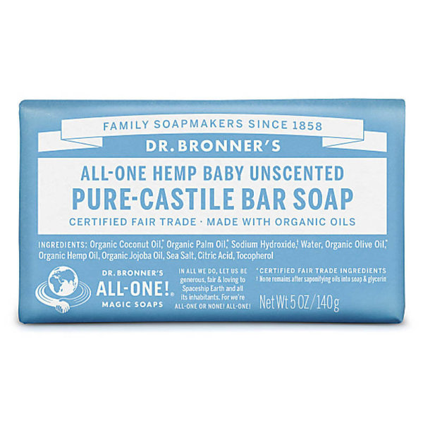 View larger image of Baby Unscented Pure-Castile Bar Soap