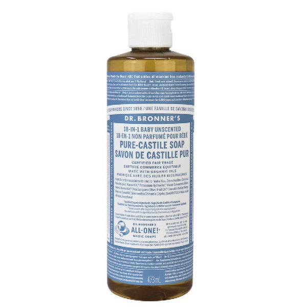 View larger image of Baby Unscented Pure-Castile Liquid Soap