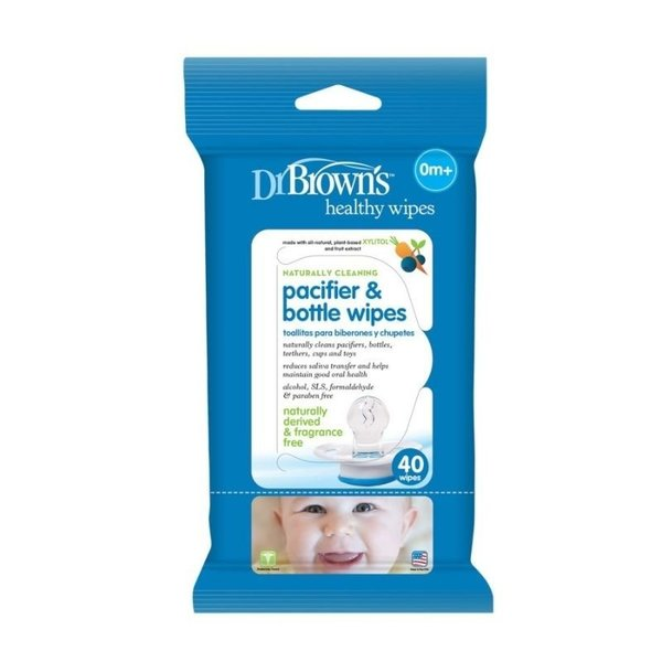 View larger image of Pacifier & Bottle Wipes - 40pk