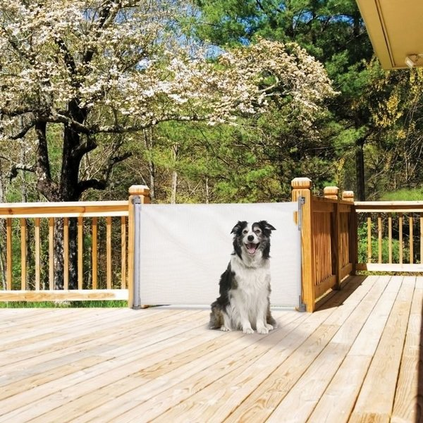 View larger image of Retractable Gate - White