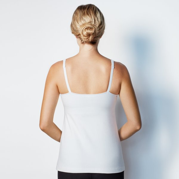 View larger image of Dream Nursing Tank - White