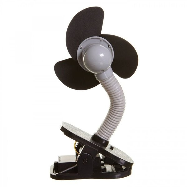 View larger image of Clip-On Stroller Fan