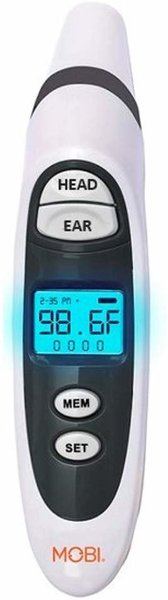 View larger image of Dual Scan Prime - Ear + Forehead Thermometer