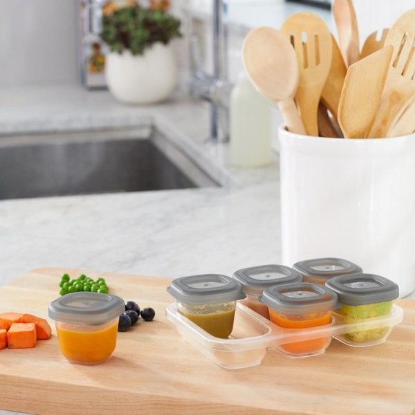 View larger image of Easy-Store 2 Oz. Containers - 6pk