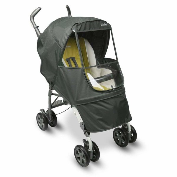View larger image of Manito Elegance Alpha Stroller Weather Shield - Grey