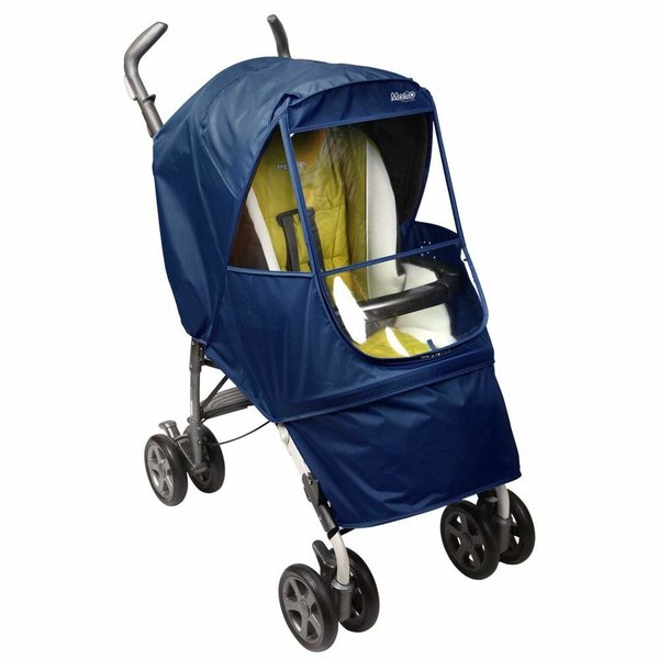 View larger image of Manito Elegance Alpha Stroller Weather Shield - Navy