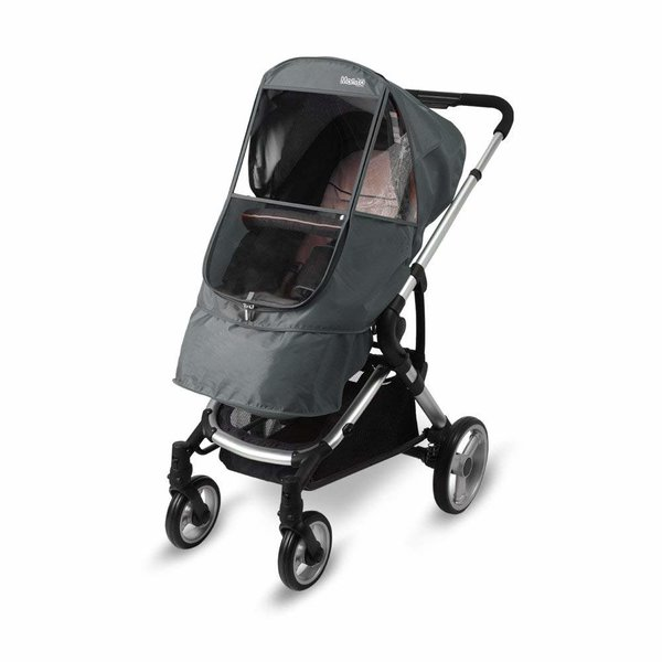 View larger image of Manito Elegance Beta Stroller Weather Shield - Grey