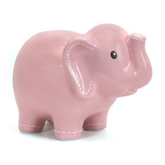 Elephant Bank - Pink - Large