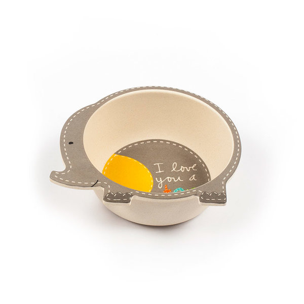 View larger image of Elephant Bowl - 2 Pack