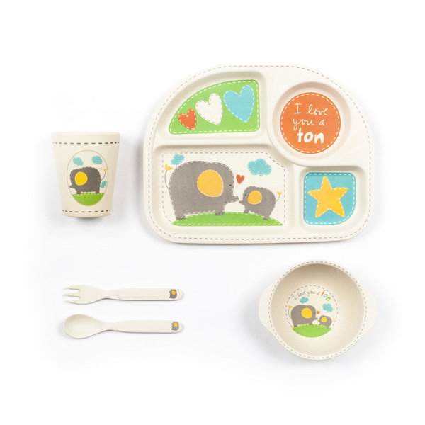 View larger image of Elephant Dinner Set