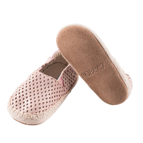 View larger image of Ellie First Kicks Soft Sole Shoes - Pink