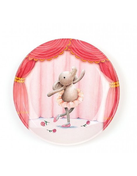 View larger image of Elly Ballerina Plate