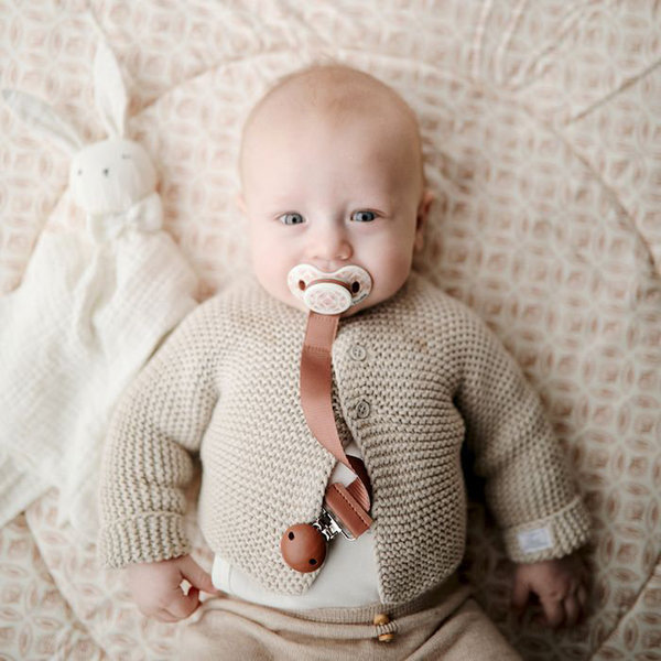 View larger image of Wood Pacifier Clips