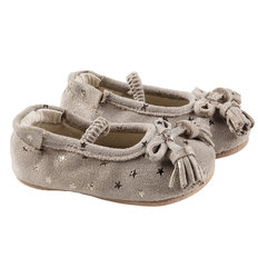 Emily First Kicks Soft Sole Shoes - Gold Stars