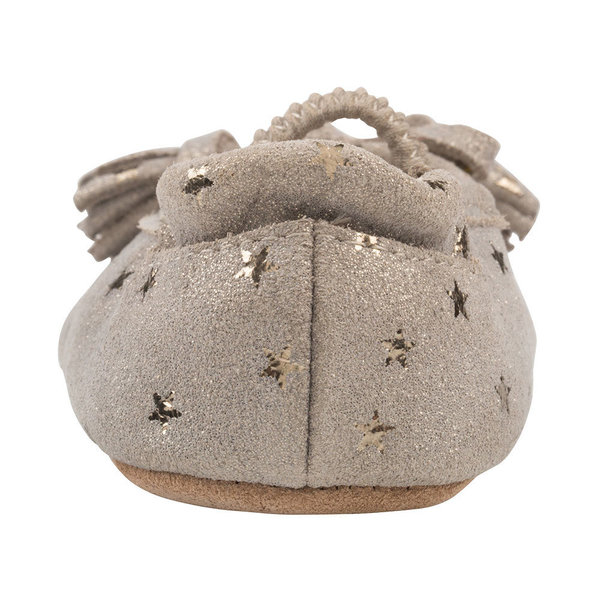 View larger image of Emily First Kicks Soft Sole Shoes - Gold Stars