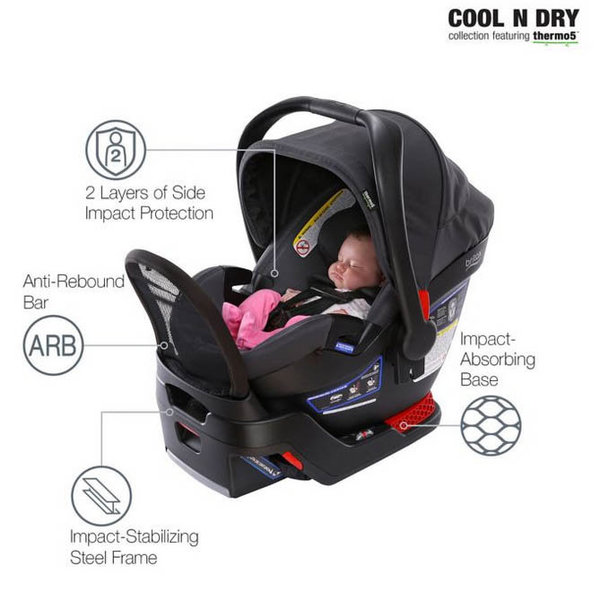 View larger image of  Endeavours Infant Car Seat - Cool 'N Dry