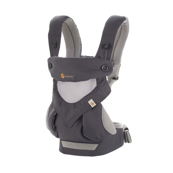 View larger image of Four Position 360 Baby Carrier - Cool Air - Carbon Grey