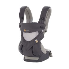 Four Position 360 Baby Carrier - Cool Air - Carbon Grey