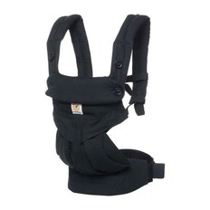 Four Positions 360 Baby Carrier - Pure Black