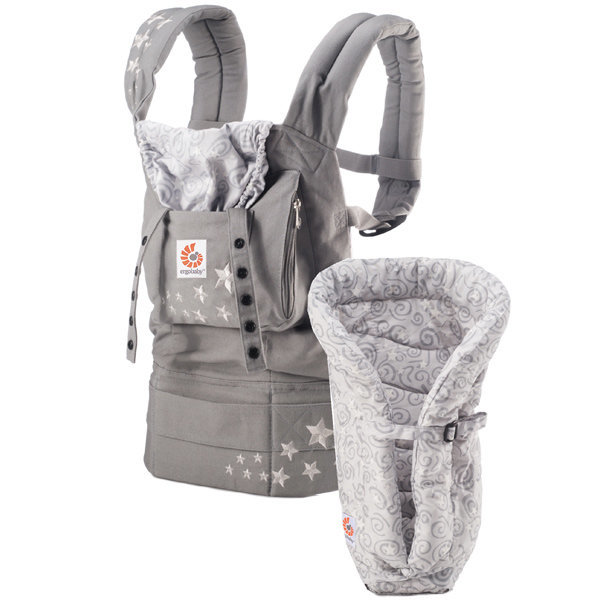 View larger image of Bundle of Joy Carrier w/ Insert - Galaxy Grey
