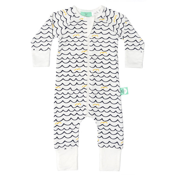 View larger image of Long Sleeve Sleeper - 0.2T - Waves