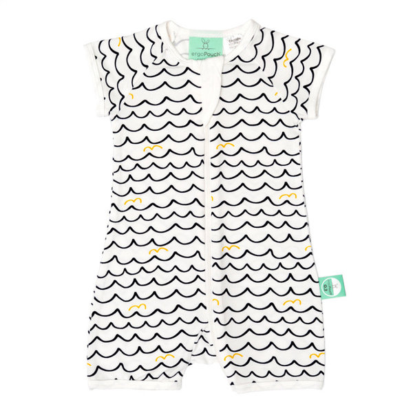 View larger image of Short Sleeve Sleeper - 0.2T - Waves