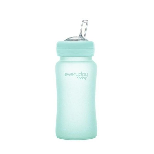 View larger image of 240ml - Glass Straw Bottle