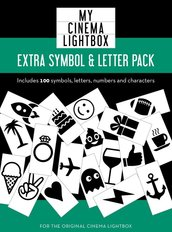 100-PC Extra Letter & Symbol Pack (Original)