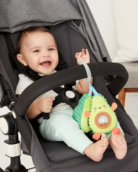 View larger image of Farmstand Avocado Stroller Toy