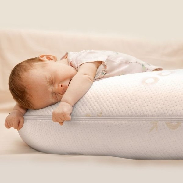 View larger image of Feeding Pillow - Bamboo/Memory