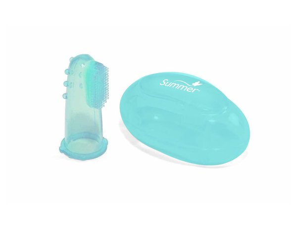 View larger image of Finger Toothbrush w/Case