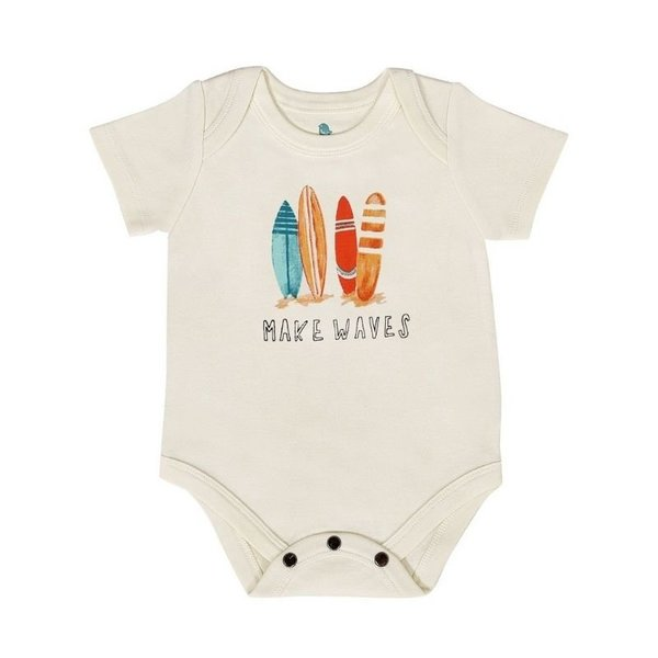 View larger image of Organic Graphic Bodysuits
