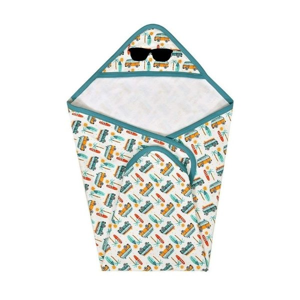 View larger image of Hooded Towel - Summer Surf
