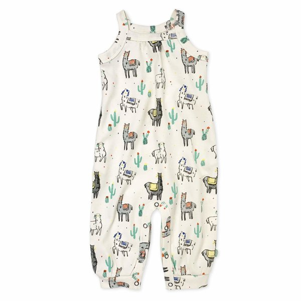 View larger image of Girls Jumpsuit - Llama