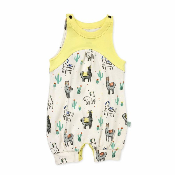 View larger image of Girls Romper - Llama