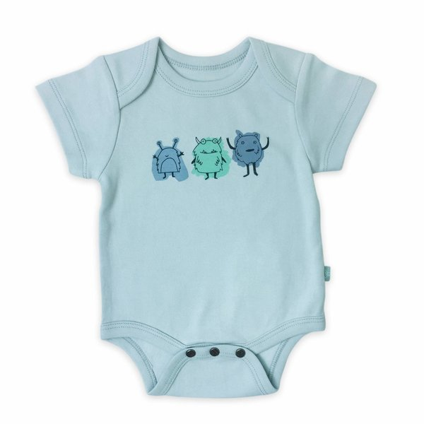 View larger image of Organic Onesie - Monster