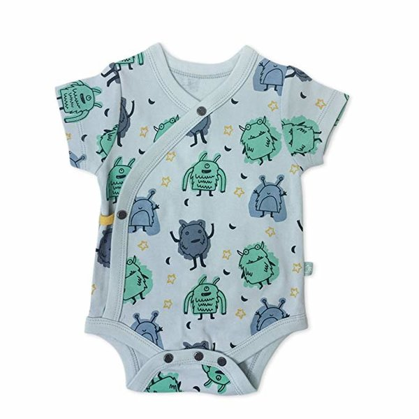 View larger image of Organic Onesie - Monster Print