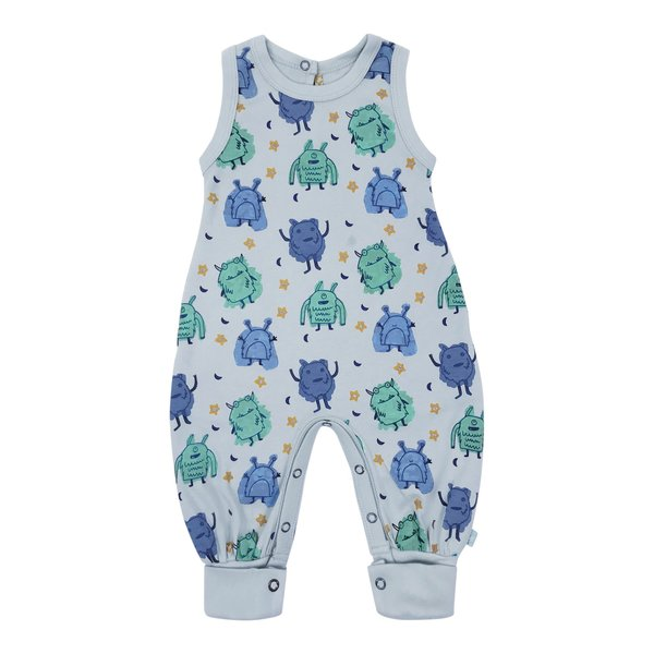 View larger image of Organic Playsuit - Monster