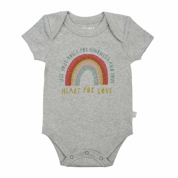View larger image of Rainbow Organic Onesie