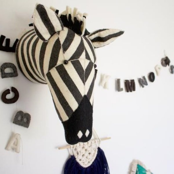 View larger image of Felt Animal Heads