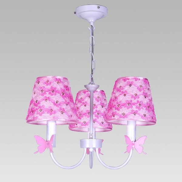 View larger image of Pink Flower/Butterfly Chandelier