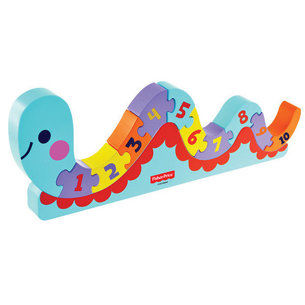 View larger image of Fisher Price-Counting Worm Puzzle