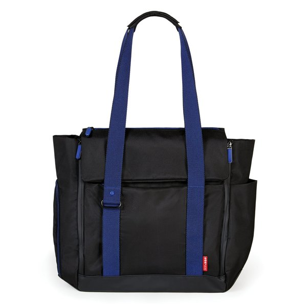 View larger image of Fit All Tote-Platinum/Coral