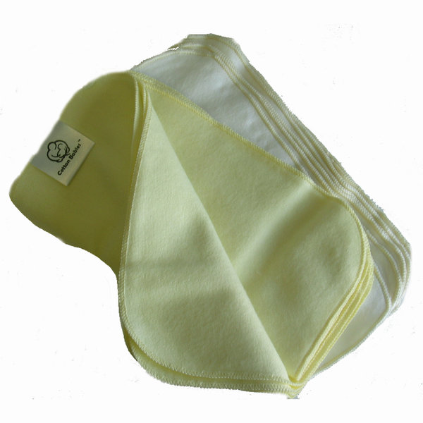 View larger image of Flannel Baby Wipes 12pk