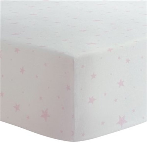 View larger image of Flannel Crib Sheet - Stars