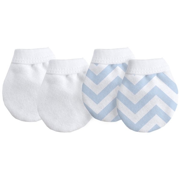 View larger image of Flannel No Scratch Mittens 2 Pack - Boy